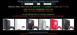 PS4IDENT وبسایتی برای شناسایی کنسول های PS4 قابل هک