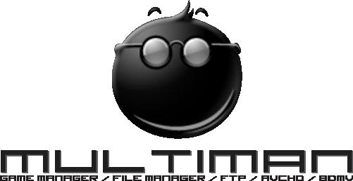 50081d1380583182 multiman logo 2 ورژن جدید برنامه multiMAN و پشتیبانی از CFW 4.55