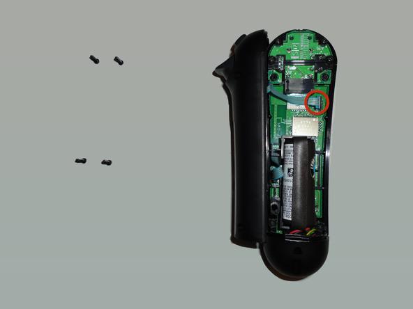Teardown حسگر حرکتی PSMOVE و PS Navigation