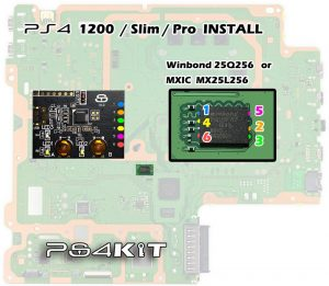PS4Kit PS4 Kit Clone of MTX Key Gamesharing ModChip Surfaces 3 300x261 PS4Kit,چهارمین کلون کیت روسی