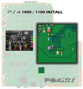 PS4Kit PS4 Kit Clone of MTX Key Gamesharing ModChip Surfaces 4 279x300 PS4Kit,چهارمین کلون کیت روسی