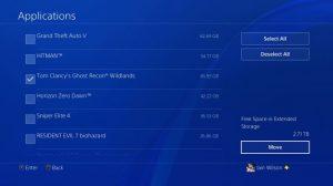 آموزش استفاده از هارد اکسترنال در کنسول PS4