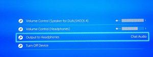 Audio options 300x113 آموزش اتصال هدستهای بلوتوث و سیمی به PS4