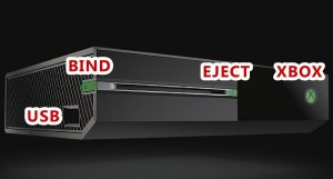 Bind Eject Xbox One 300x161 رفع ارور E203 کنسول ایکس باکس وان