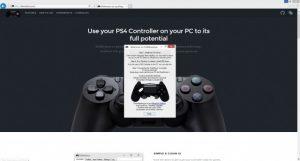 how to dualshock ds4 on pc 2 300x161 آموزش اتصال دسته PS4 به کامپیوتر